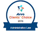 Avvo | Client's choice | 2016 | Administrative Law